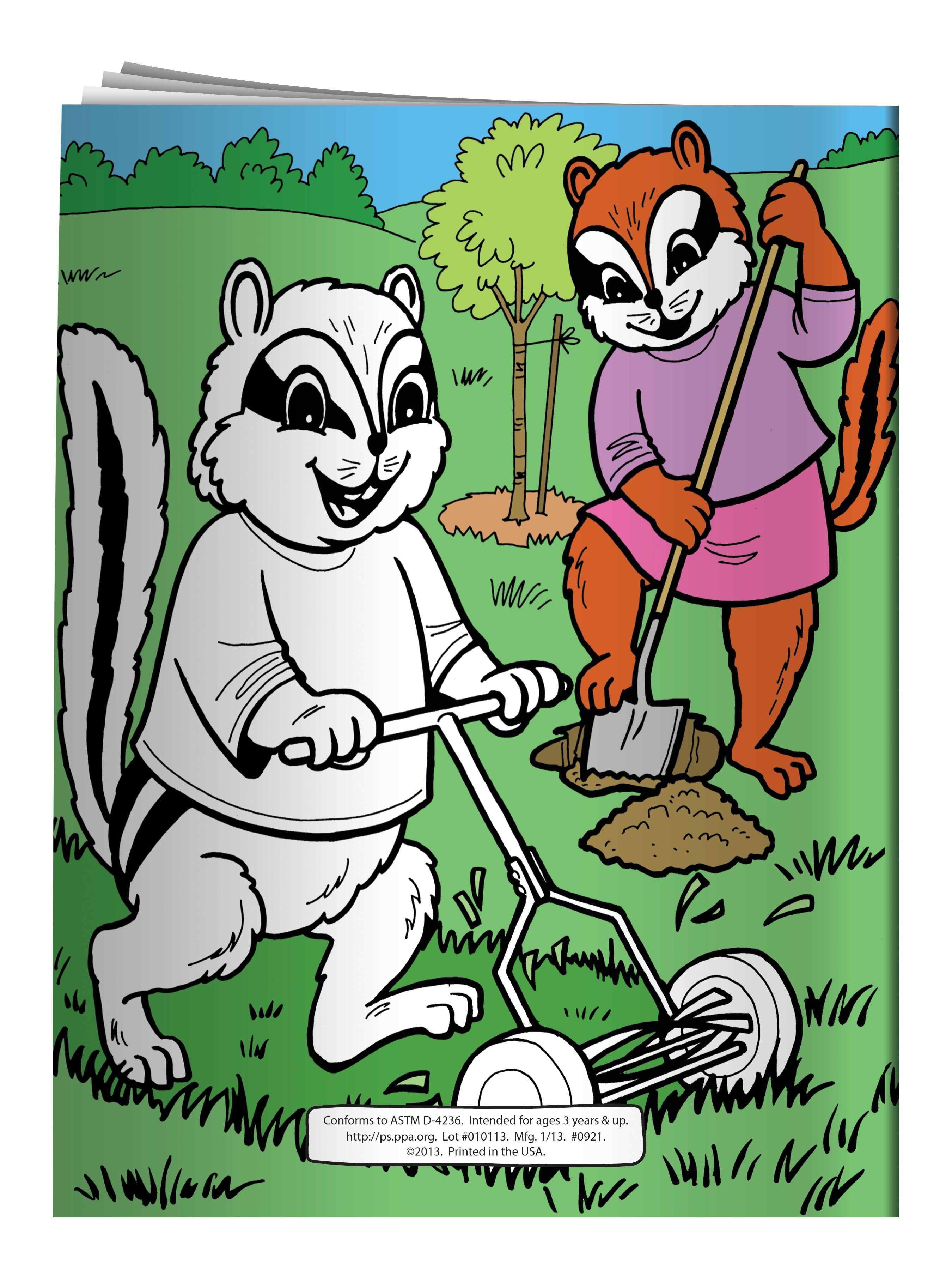 Kids Care for a Clean Environment Coloring & Activity Book