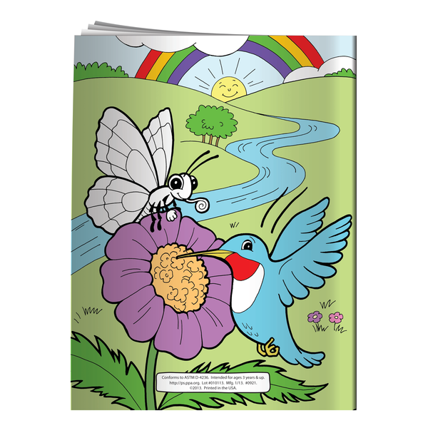 Up, Down All Around Our Wonderful World Coloring & Activity Book