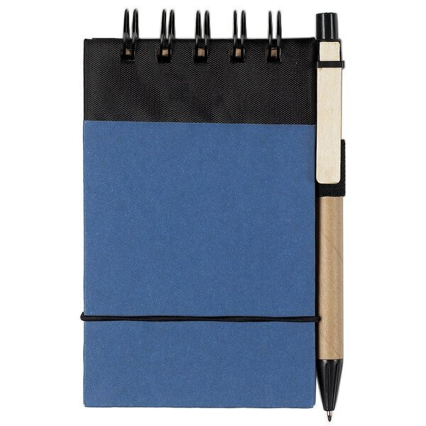 "Eco- Friendly Spiral Jotter & Pen, 3"" x 5"""