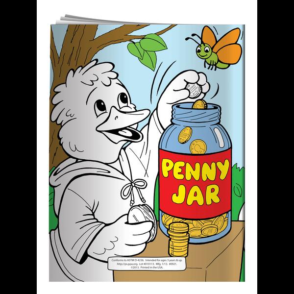 Saving Money is Fun Coloring & Activity Book