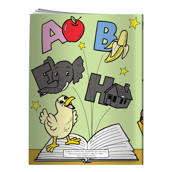 Word-y Bird-y the Alphabet Bird Coloring & Activity Book