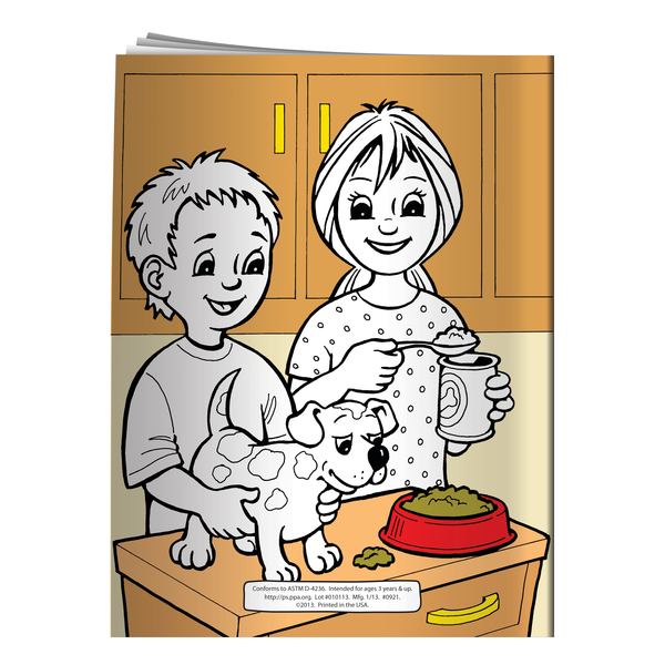 Caring for Your Pets Coloring & Activity Book