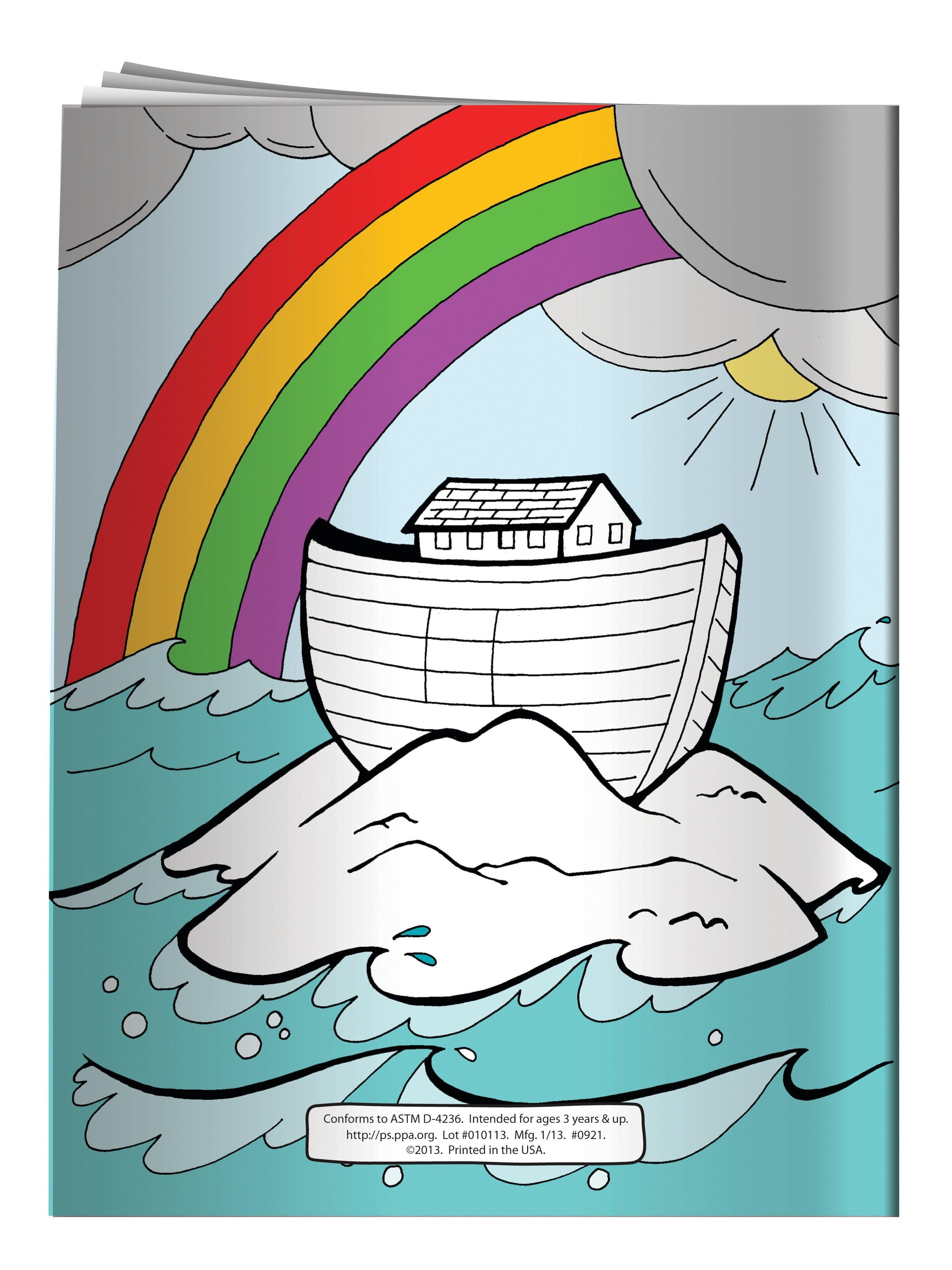 Noah's Ark Coloring & Activity Book