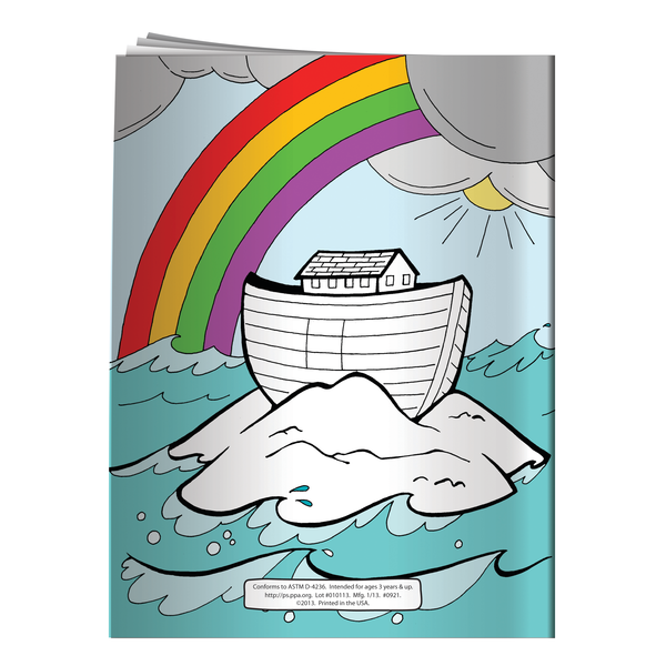 Noah's Ark Coloring & Activity Book
