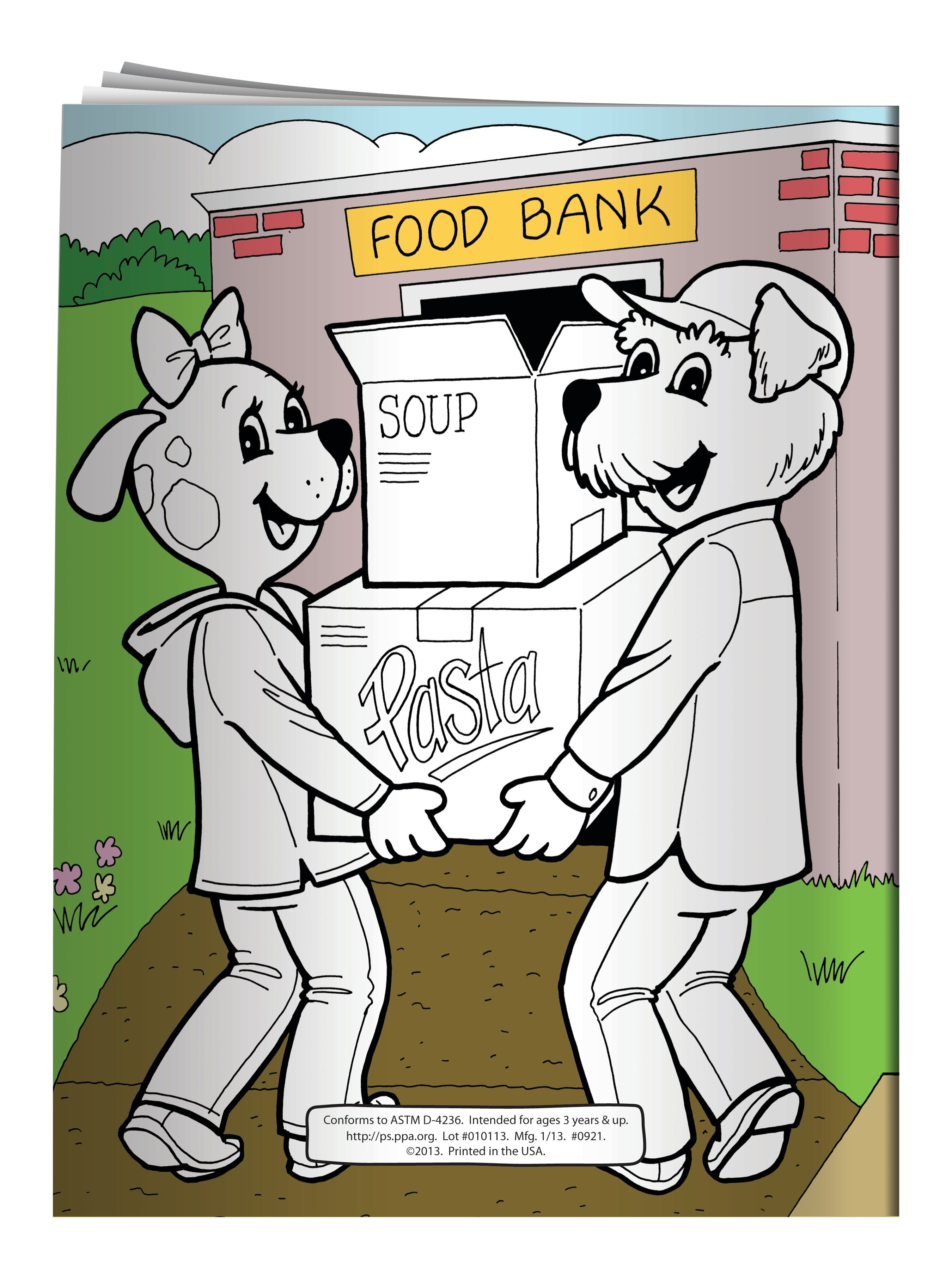 Make a Difference and Volunteer Coloring & Activity Book