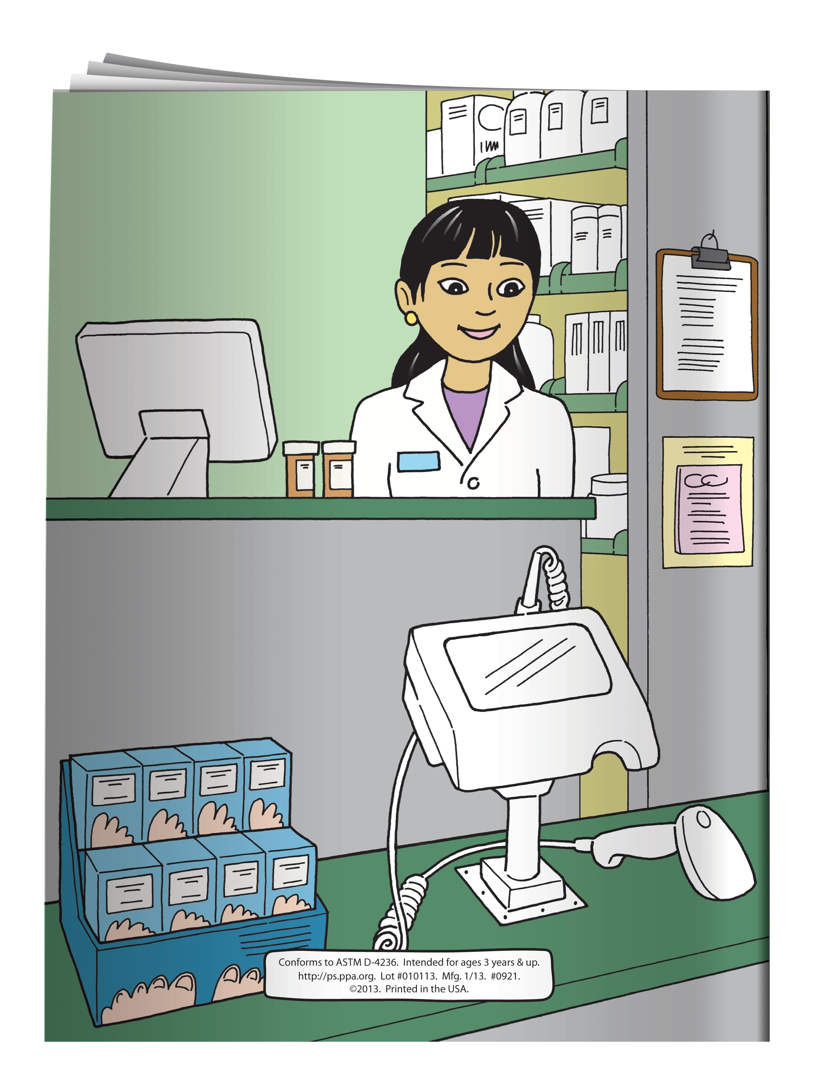 My Visit To The Pharmacy Coloring & Activity Book