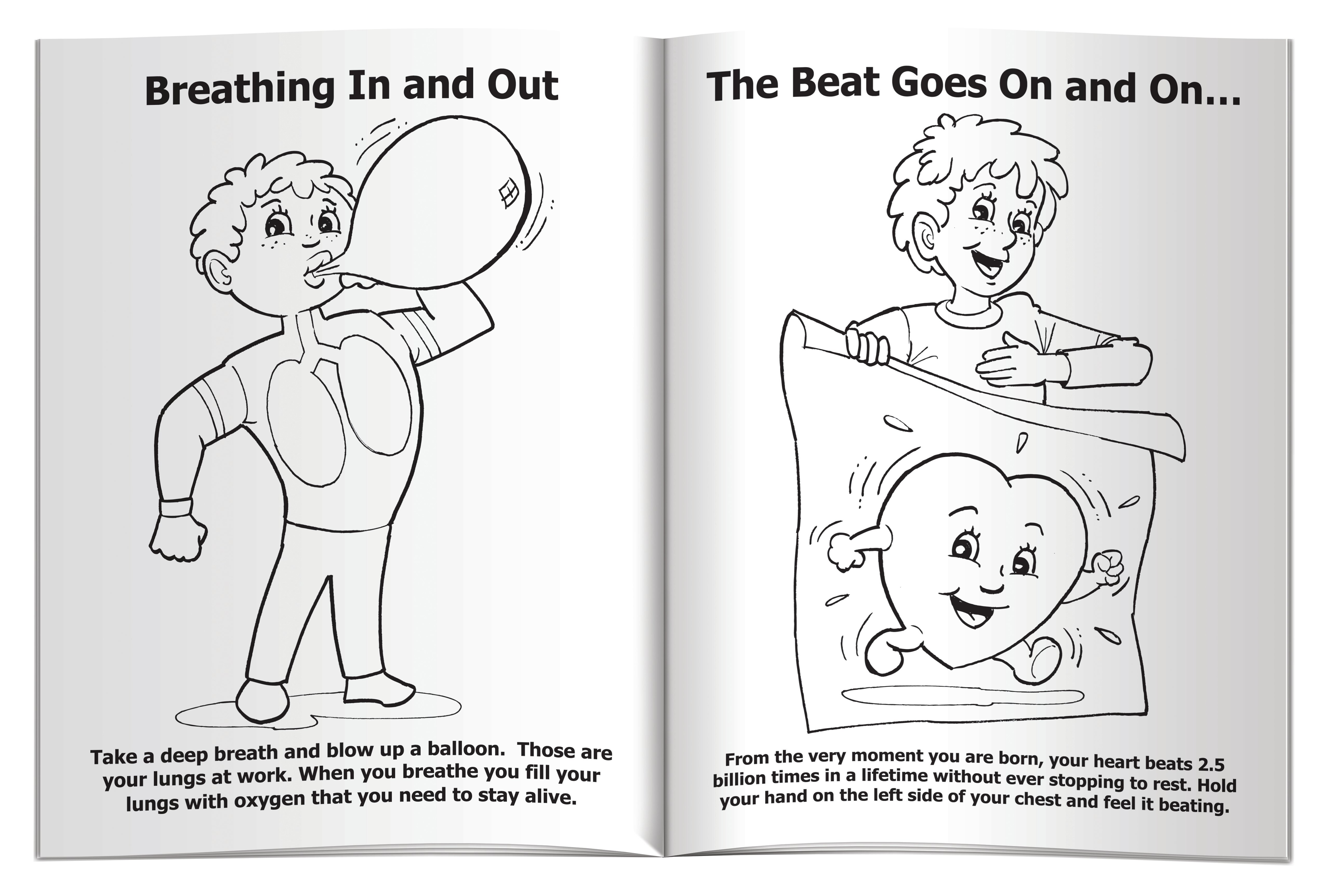 Meet Buddy Your Healthy Body Coloring & Activity Book