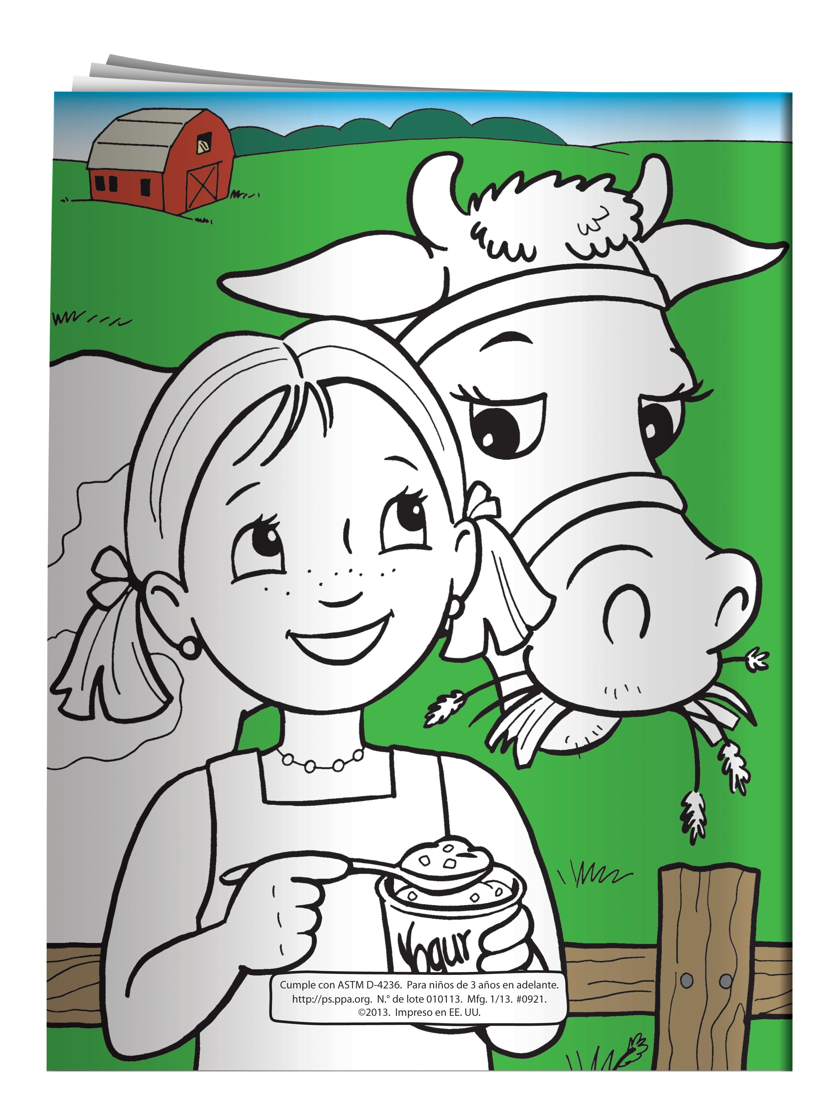 Feel Good Eat Healthy Coloring & Activity Book - Spanish Version