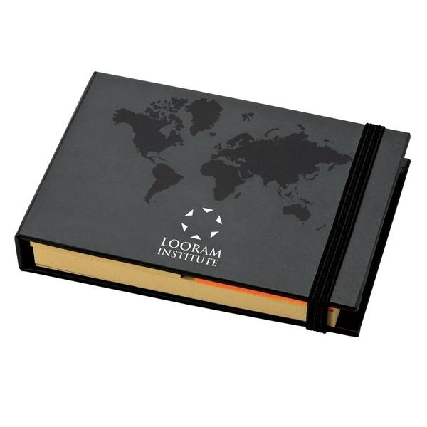 World Design Sticky Notes Book