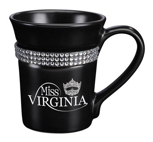Bling Flared Ceramic Mug, 12oz.