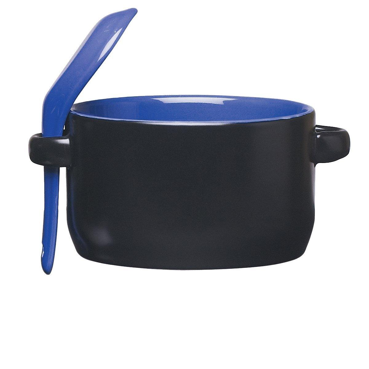 Cosmic Ceramic Soup Mug - Black, 12oz.