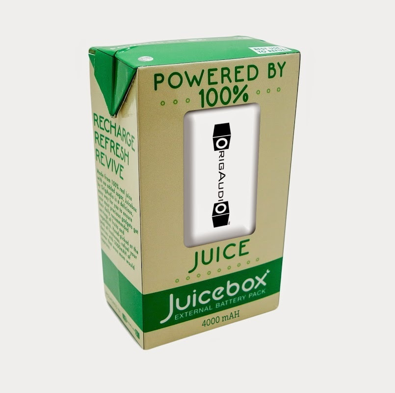 Juicebox External Battery Pack Power Bank, 4000mAh