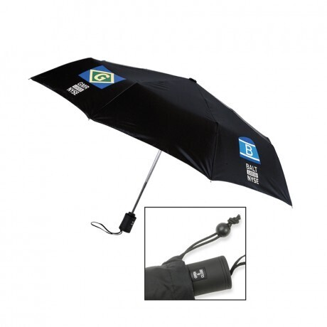 "Executive Mini Automatic Open/Close Umbrella, 43"" Arc"