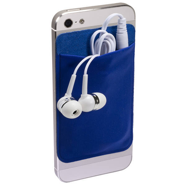 Cell Phone Pocket & Earbuds Set