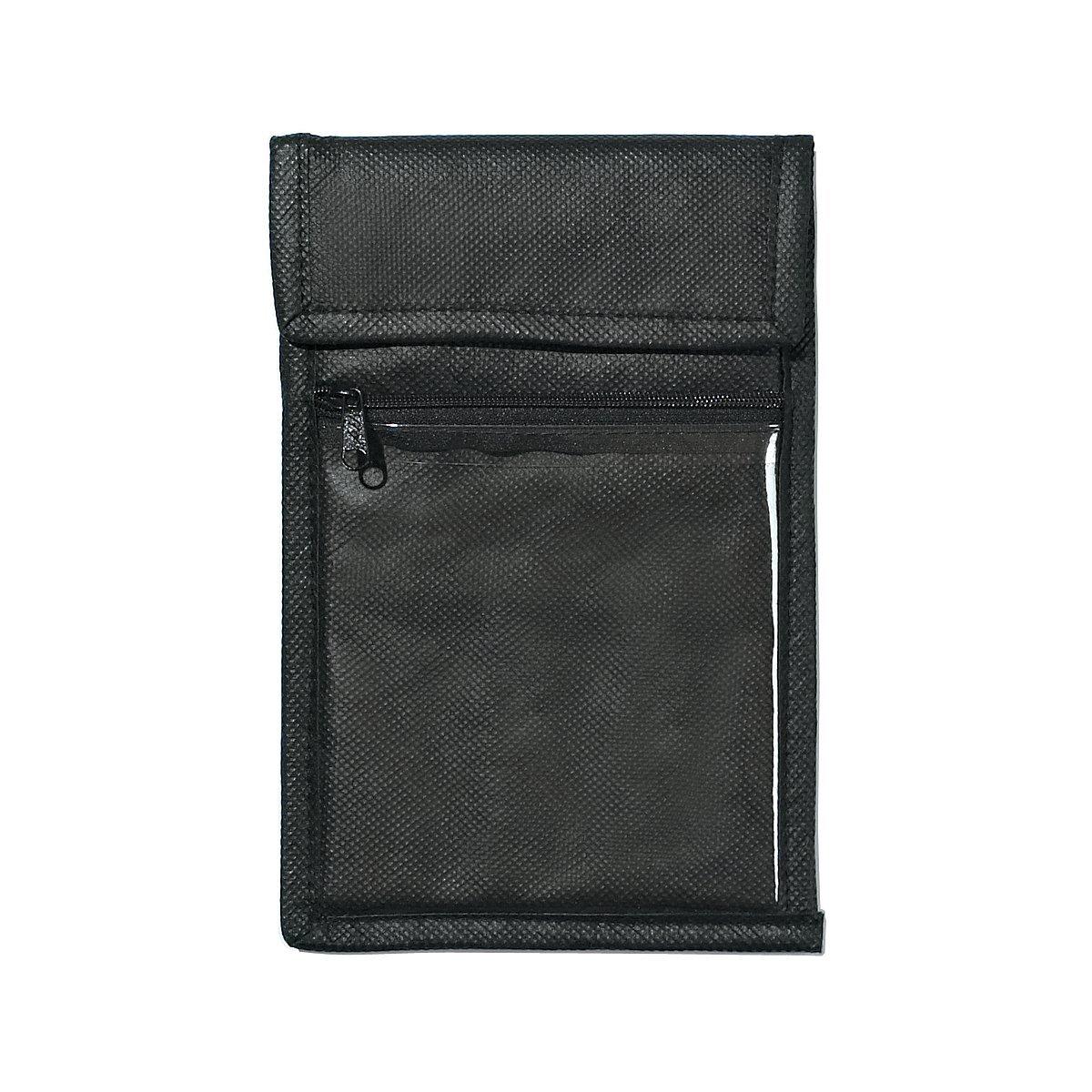 Neck Wallet Non-Woven Badge Holder