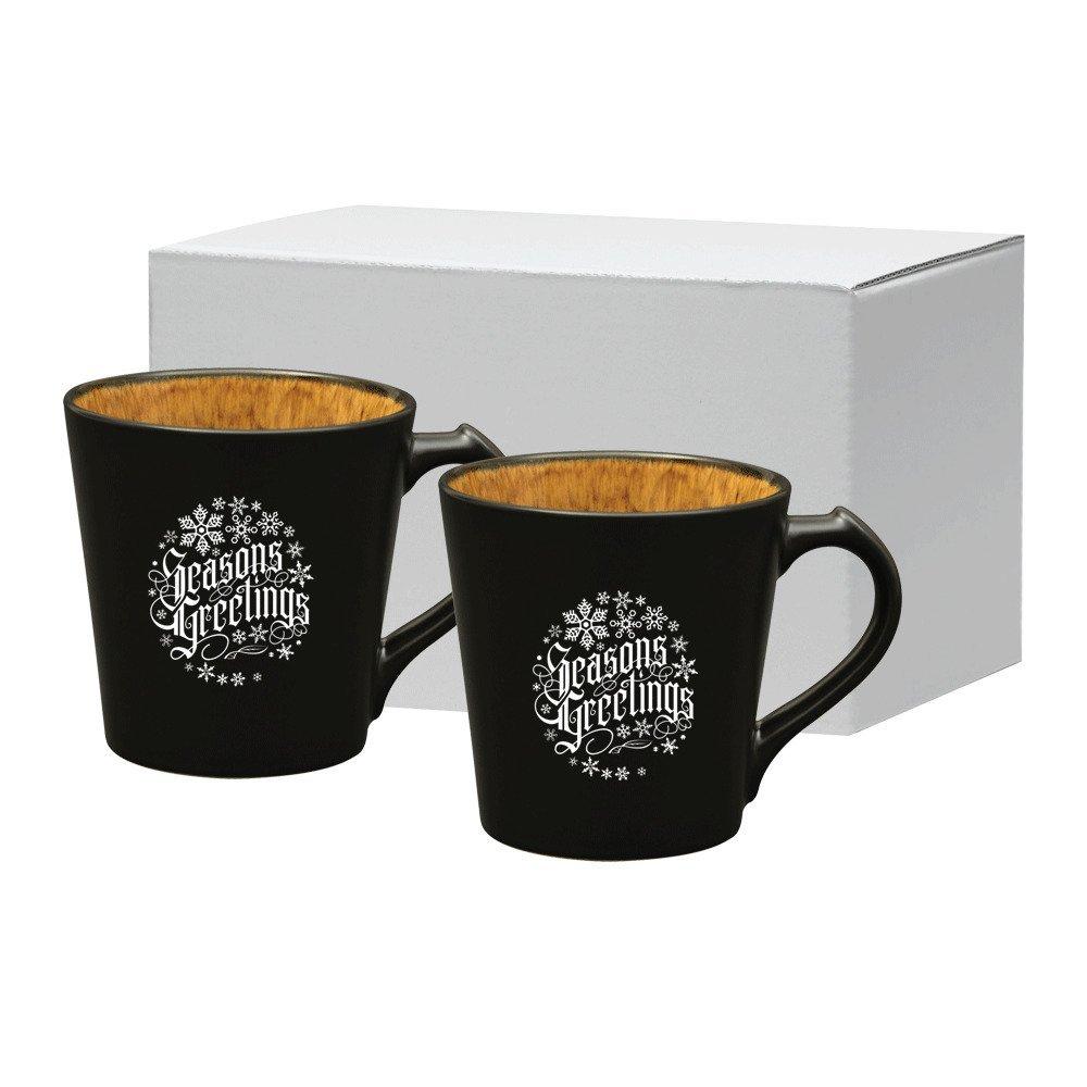 Vog Ceramic Mug Set, 14oz.
