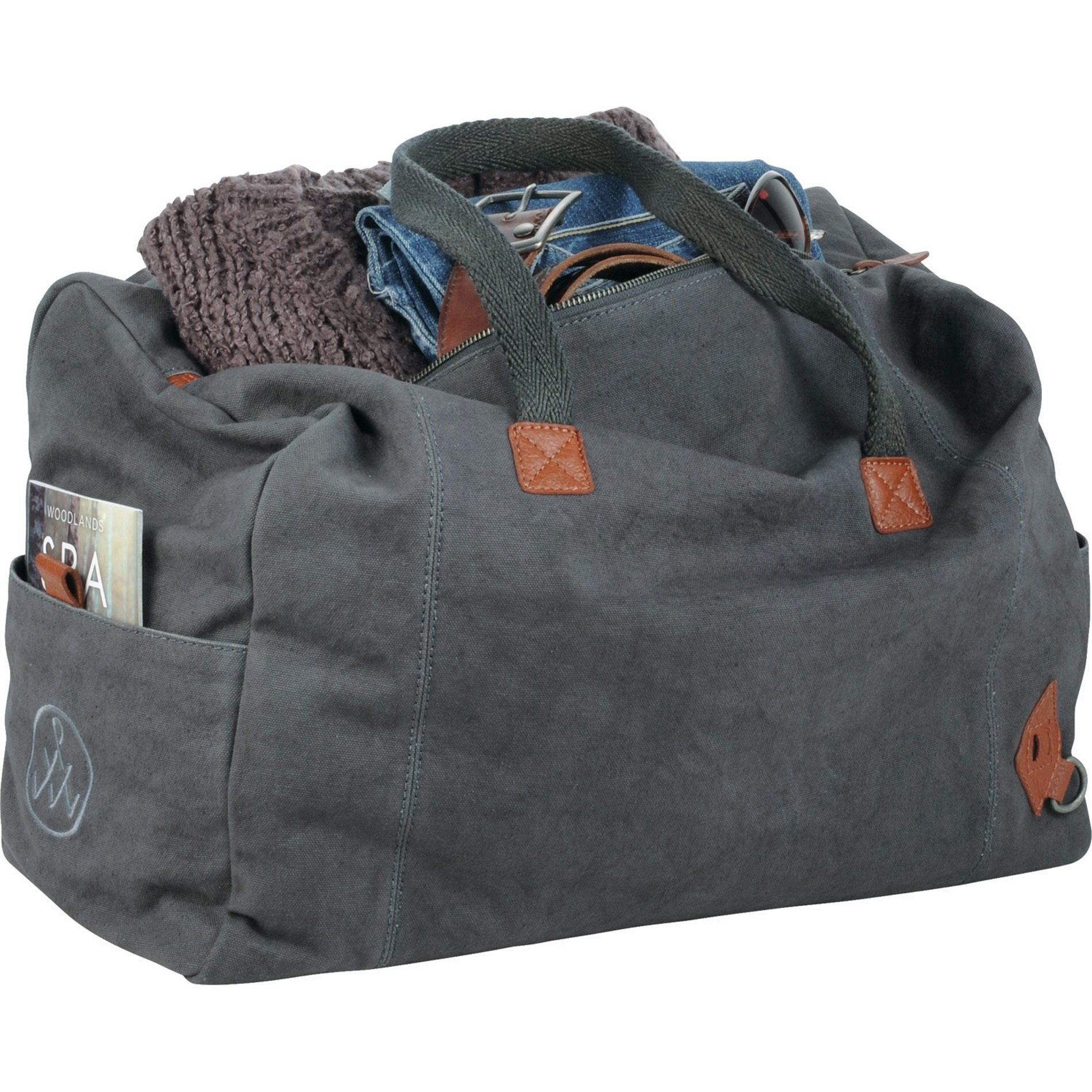 Alternative® Cotton & Leather Premium Weekender Tote