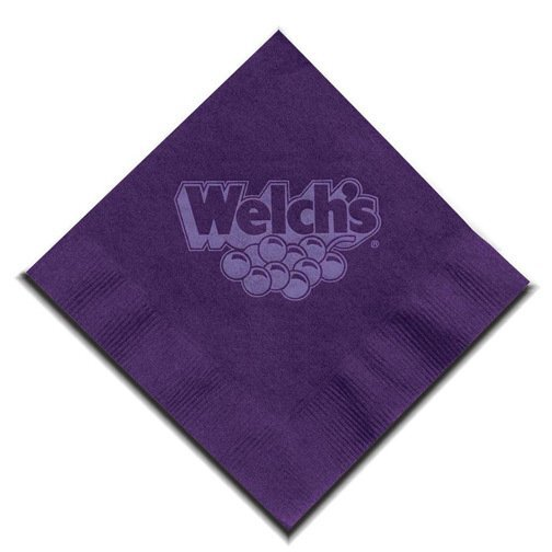 Colored Beverage Napkin, 2 Ply
