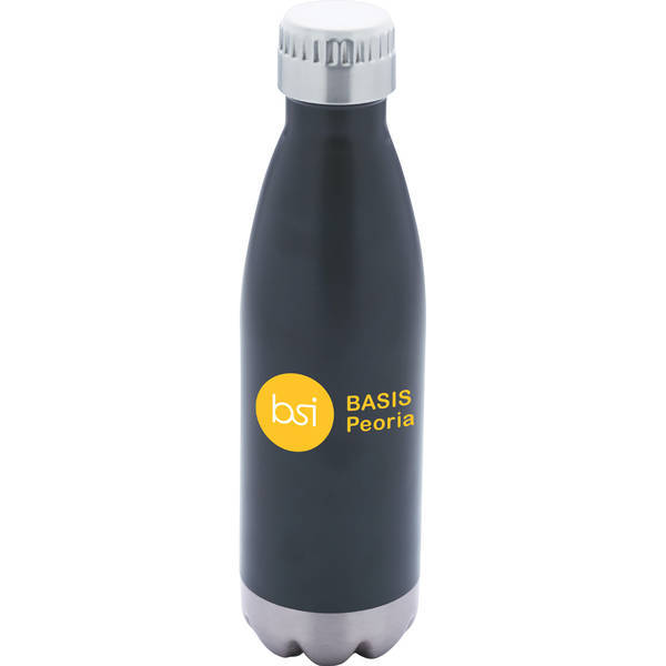 Camper Stainless Steel Thermal Water Bottle, 17oz.