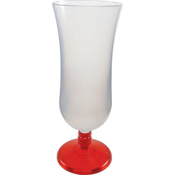 Plastic Hurricane Glass, 15oz.