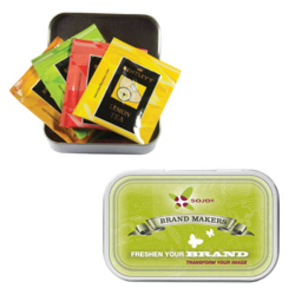 Compact Tea Tin
