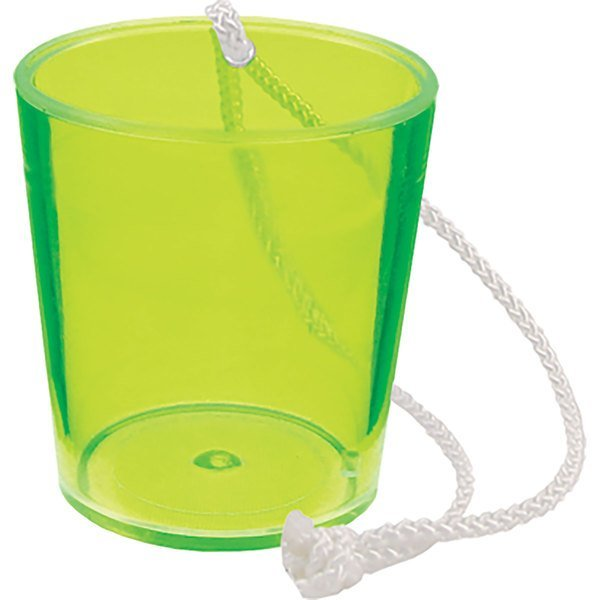 Hanging Plastic Shot Glass, 2oz.
