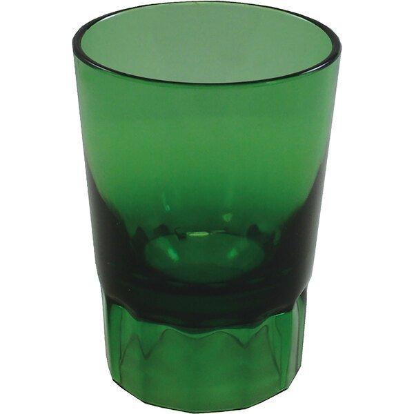 Fluted Plastic Shot Glass, 2oz.