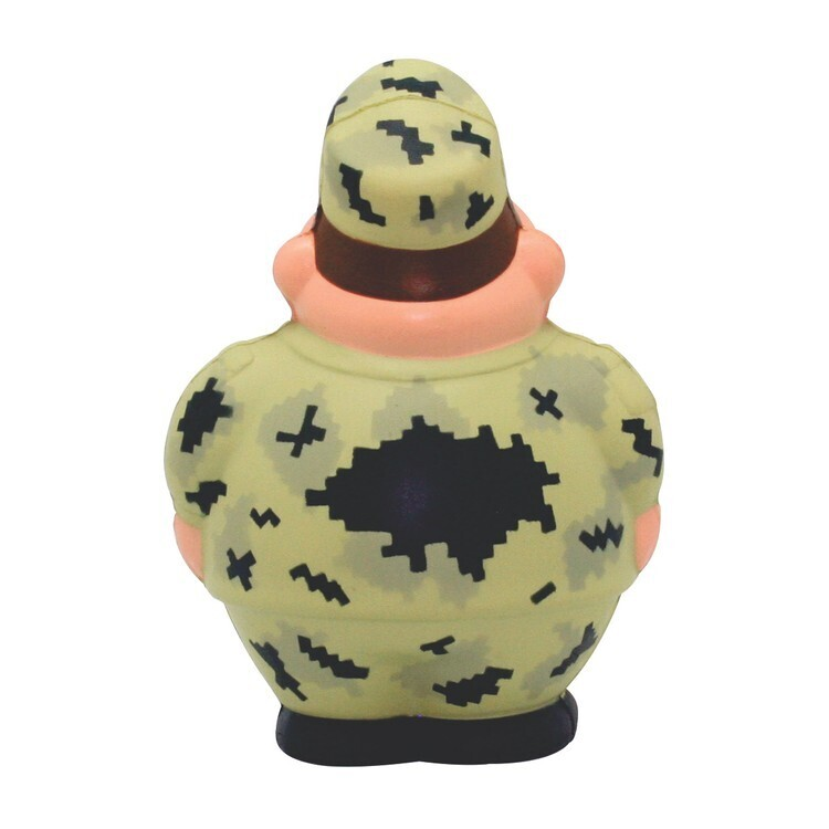 Digi Camo Military Bert Stress Reliever