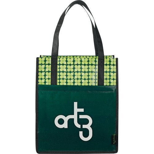 Laminated Non-Woven Big Grocery Tote