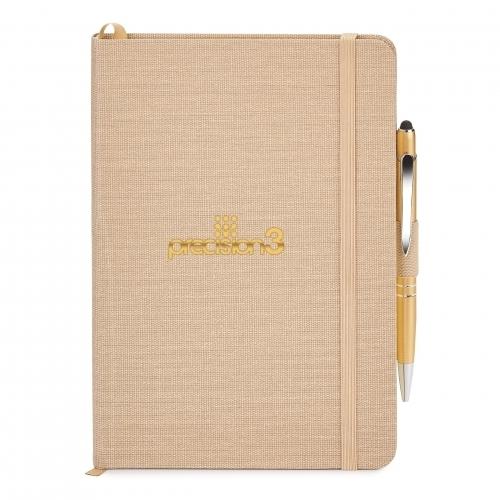 """Linen Journal Combo, 5-3/4"""" x 8-1/4"""""""