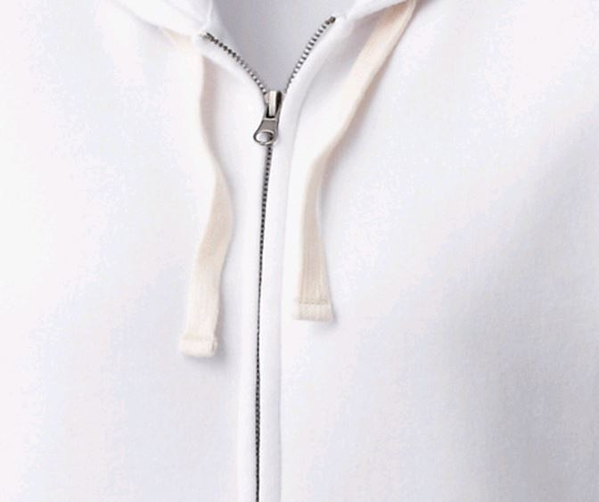 Huron Ladies' Vintage Garment Wash Full Zip Hoodie