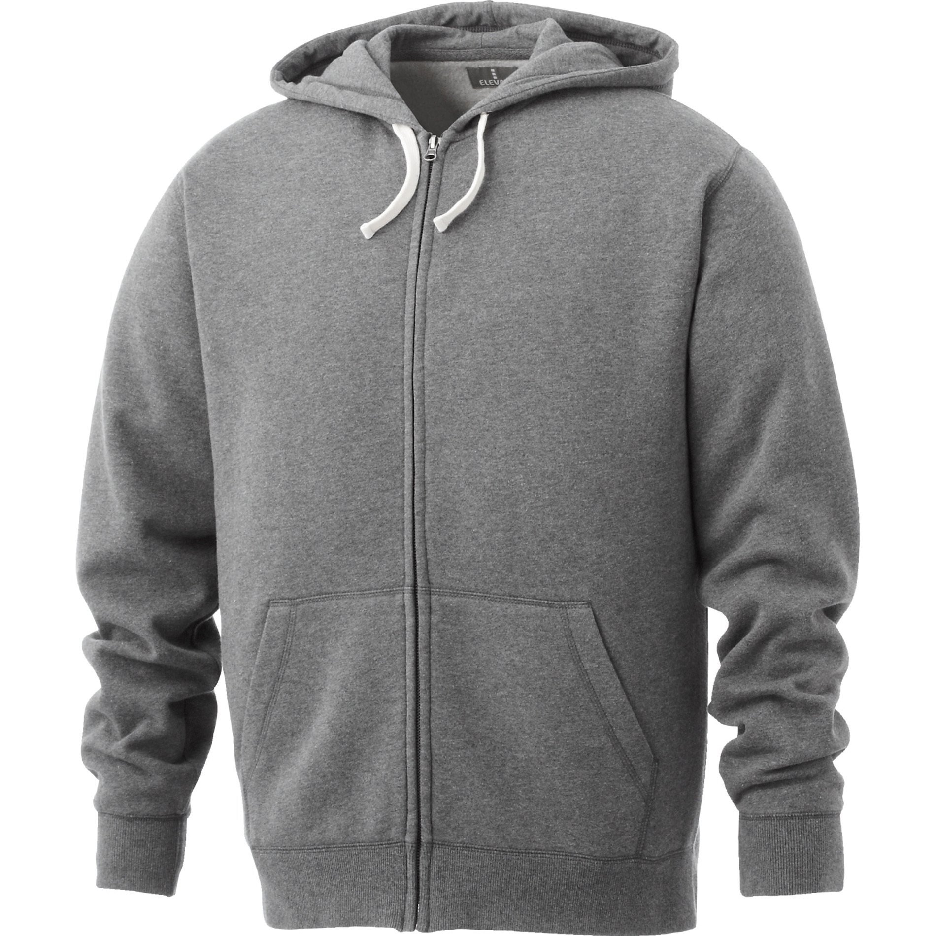 Huron Men's Vintage Garment Wash Full Zip Hoodie