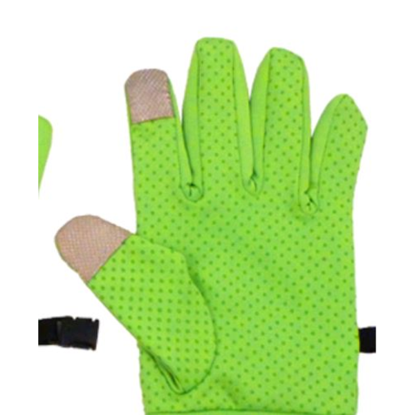 Touchscreen Spandex Gloves with Dot Grip