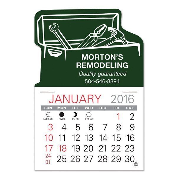 Tool Box Value Stick™ Calendar