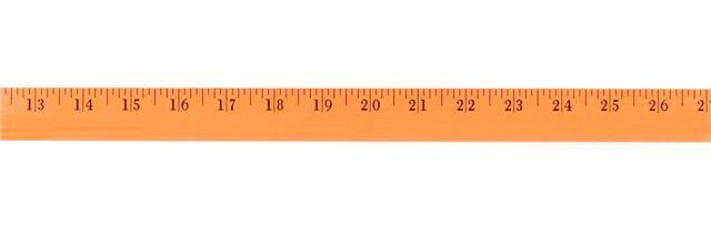 Fluorescent Finish Yardstick