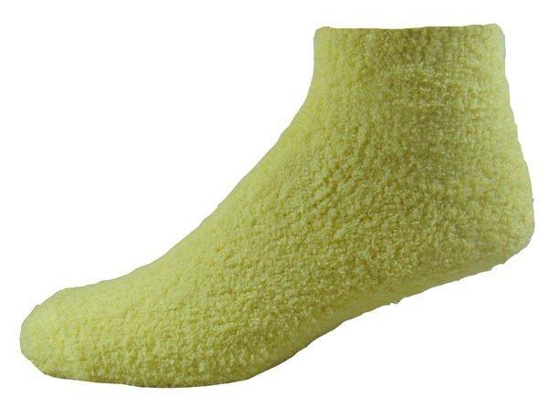 Fuzzy Feet Gripper Socks, Quarter Top
