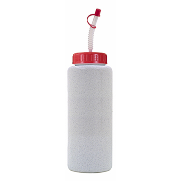 Grip Bottle with Flexible Straw, 32 oz., BPA Free