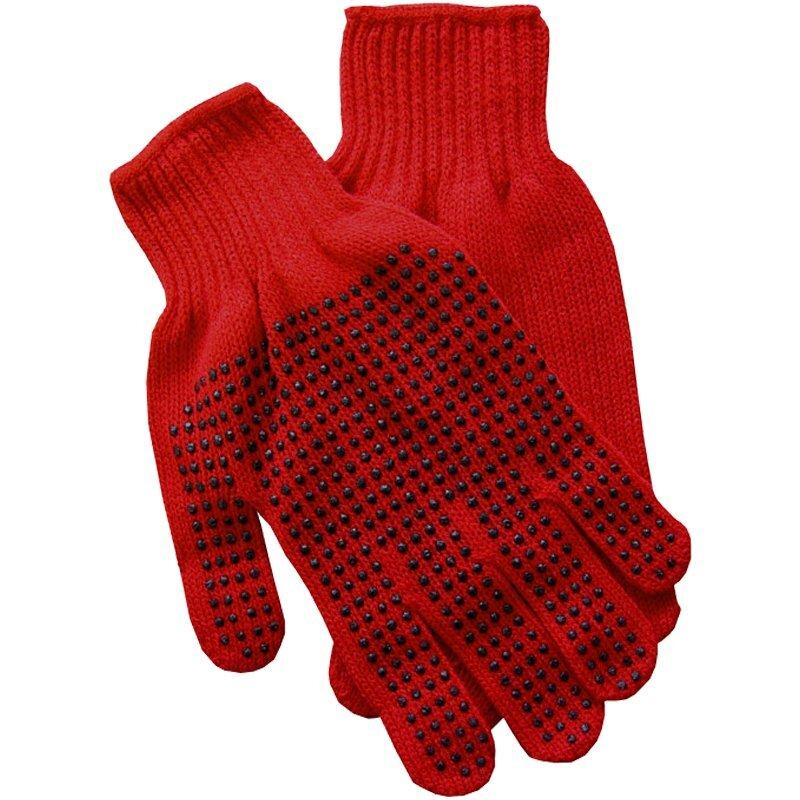Knit Polyester Gripper Gloves