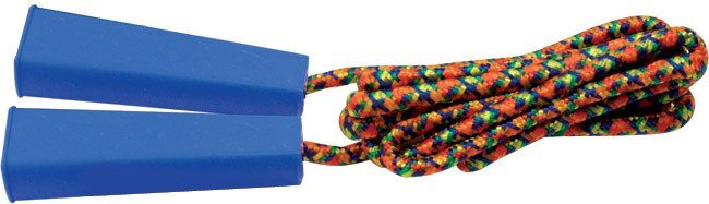 Jump Rope with Colored Handles