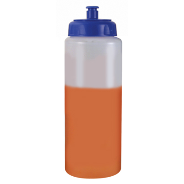 Mood Color Changing Bottle with Pull Cap, 32oz. w/ Full Color Imprint