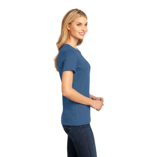 District Made® Perfect Weight® Ladies' Crew Tee