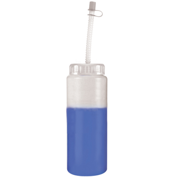 Mood Color Changing Sport Bottle with Straw, 32 oz., BPA Free