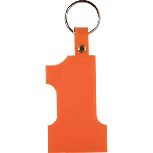 Number One Key Tag