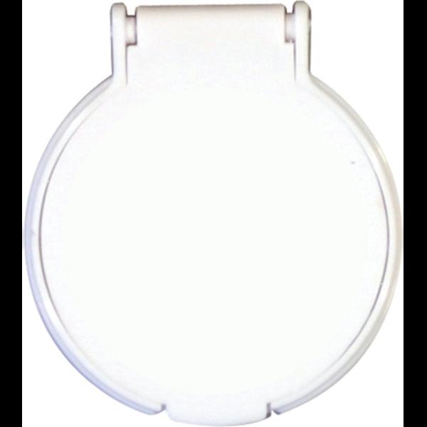 Round Flip Top Mirror