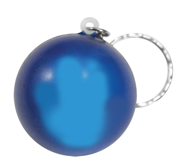 Smiley Face Mood Color Changing Stress Reliever Key Chain