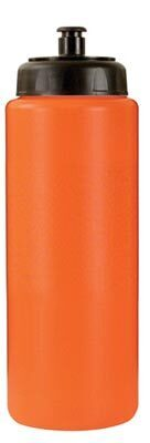 Sports Bottle w/Push Pull Cap, 32oz. w/ Full Color Imprint