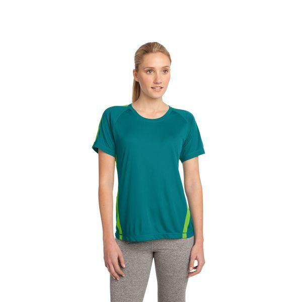 Sport-Tek® Colorblock PosiCharge™ Competitor™ Ladies' Performance Tee