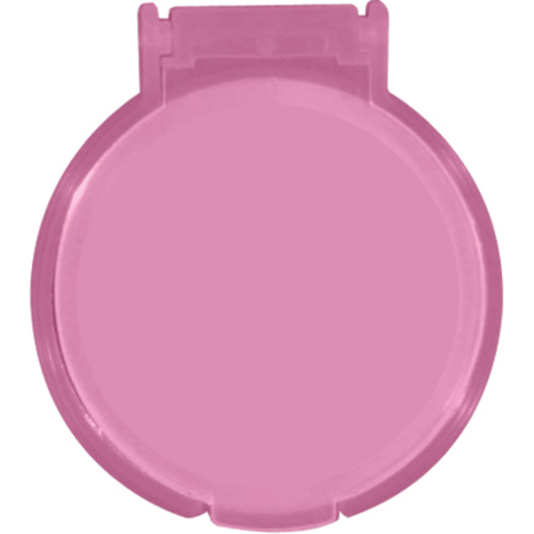 Breast Cancer Awareness Round Mirror