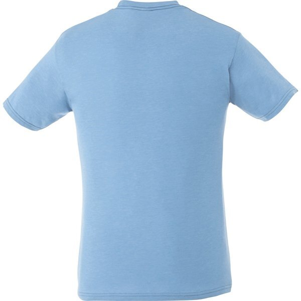Bodie Men's Heather Jersey Knit Tee, Full Color