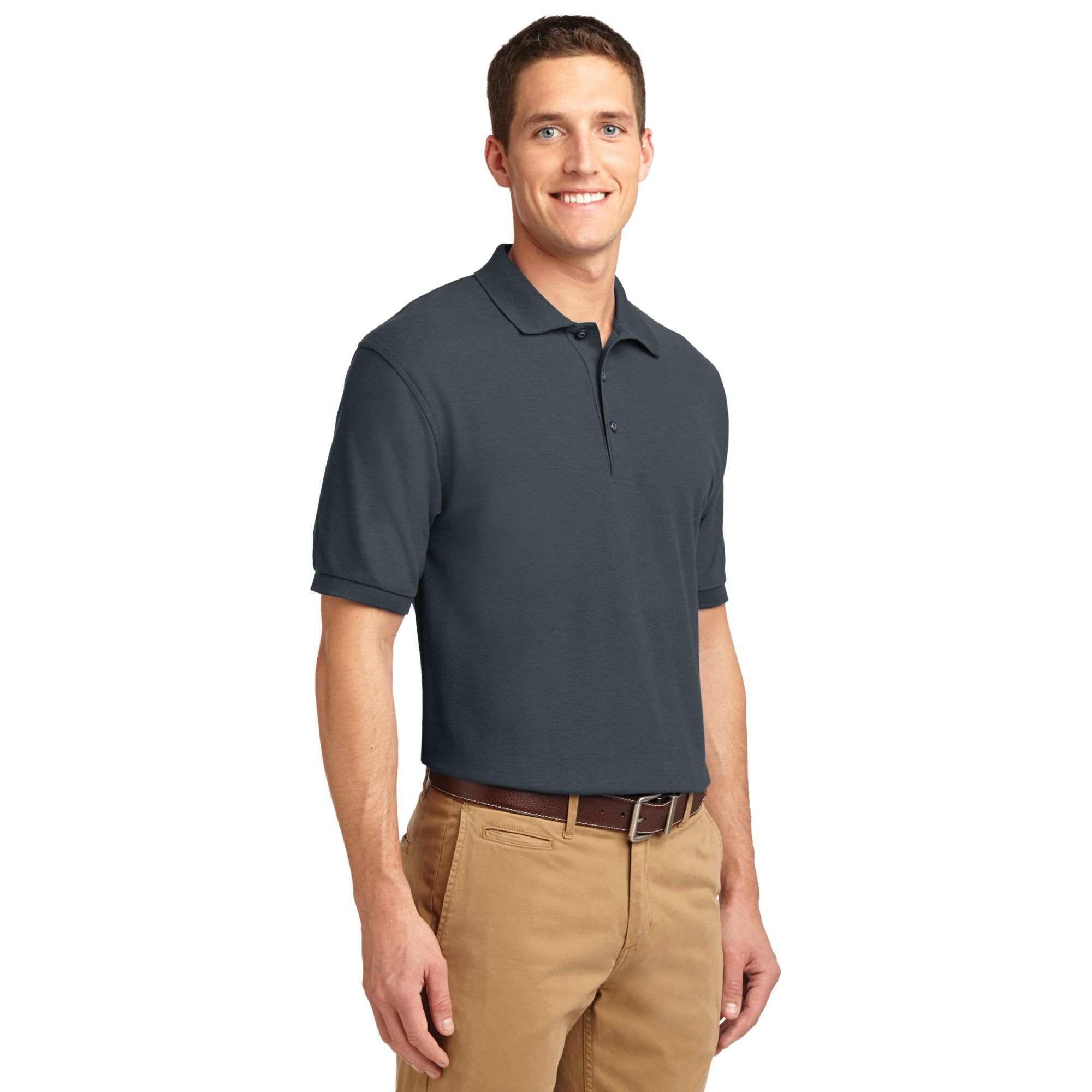 Port Authority® Silk Touch™ Pique Men's Polo